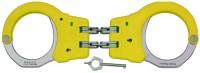 ASP Handschellen mit Scharnier gelb