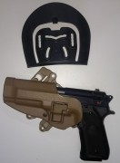 SERPA CQC Holster L Beretta 92/96 BLACKHAWK!