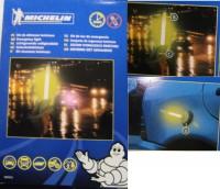 Kfz Sicherheitslichtset MICHELIN für Unfall- Kennzichnung per Lichtsignal Notfallsignal