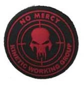 NO MERCY Patch • rot