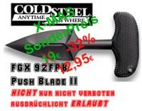 COLD STEEL • FGX Push Blade II • Faustmesser • Pushdagger 92FPB