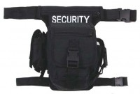 """Tactical """"SECURITY"""" Tasche, schwarz,"""