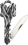 SOG Key Knife Zebra Muster
