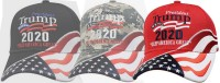 BaseBallCap TRUMP President 2020 USA rot Stick keep America great Stars