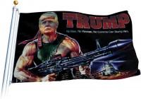 TRUMP Bazooka  USA Flagge
