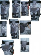 PRO-3 TACTICAL HOLSTER Dienstholster