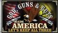 God Guns and Guts Flagge