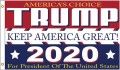 TRUMP 2020 USA Flagge