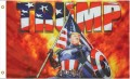 TRUMP Captain America USA Flagge