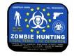 EU Zombie Hunting Aufkleber