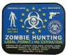 EU Zombie Hunting Patch 3D Optik